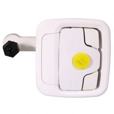 FAP OPERA GARAGE LOCK WHITE
